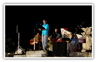 "Eleusis • ""Baroque music under the moonlight at the Mourning Rock"" • July 2011"