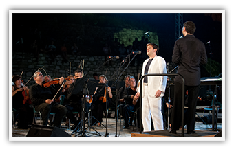 Old Fortress Corfu • Athens State Orchestra • Under Vassilis Christopoulos • September 2012