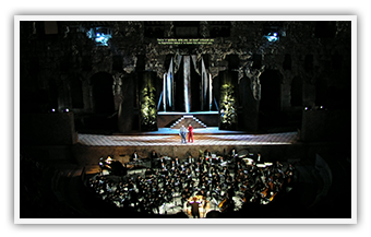 "Odeon of Herodes Atticus  • N. Mamangakis ""Erofili"" • September 2003"