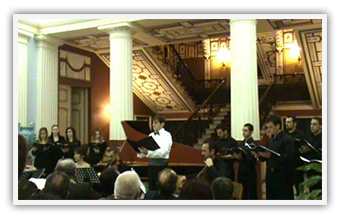 "Corfu Achillion Palace • Buxtehude ""Jesu Membra Nostri"" • Ionian Early Music Enseble • October 2008"
