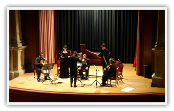 UNIVERSITÀ CA' FOSCARI AUDITORIUM S. MARGHERITA Venice • Ionian Early Music Enseble • April 2009