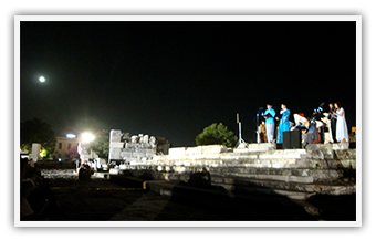 "Archaeological Museum of Eleusis • ""Baroque music under the moonlight at the Mourning Rock"" • July 2011"