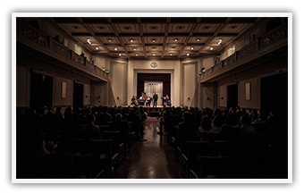 "Parnassos Concert Hall • Baroque concert ""Mi palpita il cor"" • April 2013 photo • (c) Stefanos Papadopoulos"