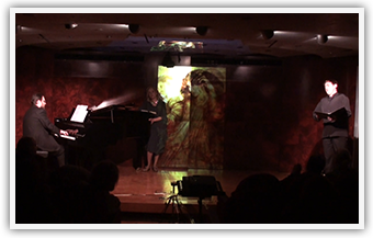 M & B Theocharakis Foundation | Titos Gouvelis, piano | Magda Mavrogianni, actress | March 2014